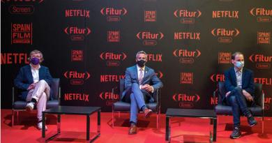 """Pablo Zuloaga reafirma su compromiso con el sector audiovisual en FITUR SCREEN: """"El cine es la mejor imagen de presentación de Cantabria"""""""
